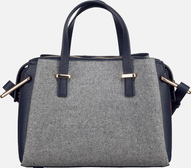 Tommy Hilfiger Damen Handtasche Core Med Satchel Melton