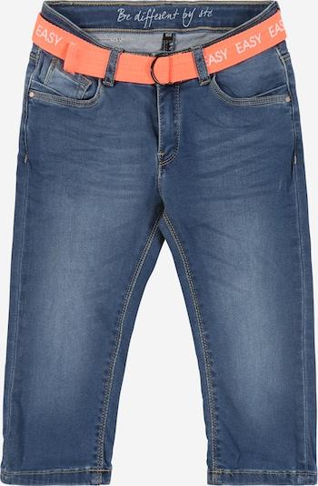 STACCATO Kalhoty 'Md.-Denim-Capri+Gürtel' - modrá džínovina, Produkt