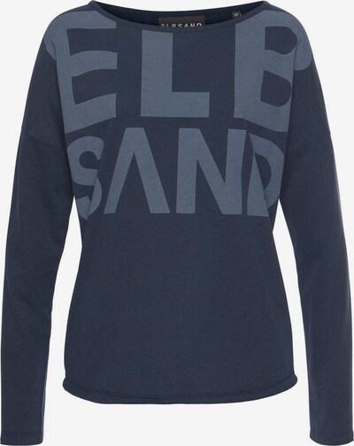 Elbsand Langarmshirt in dunkelblau, Produktansicht