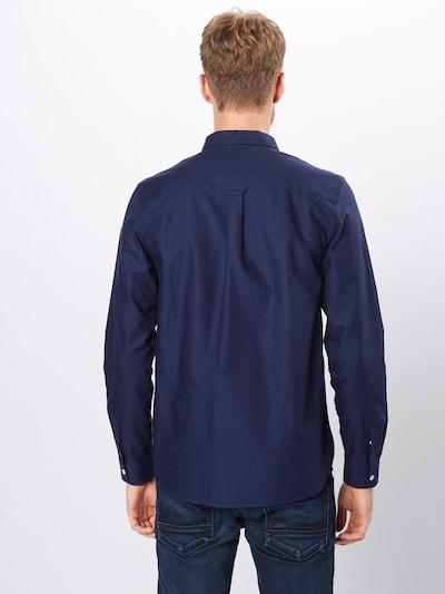 Lyle & Scott Chemise 'Oxford Shirt' en bleu marine: Vue de dos