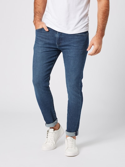 LEVI'S Jeans '512™' in blue denim, Modelansicht