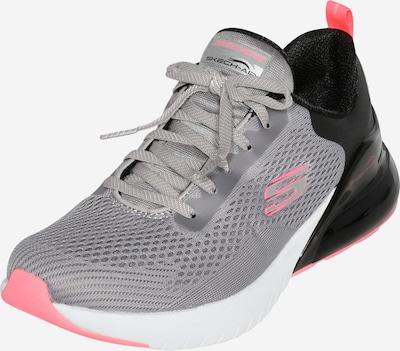 SKECHERS Sneaker in grau / pink / schwarz / weiß, Produktansicht