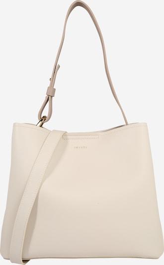 INYATI Schoudertas 'Jane' in de kleur Taupe / Wit, Productweergave
