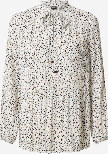 s.Oliver BLACK LABEL Bluse in braun / schwarz / weiß, Produktansicht