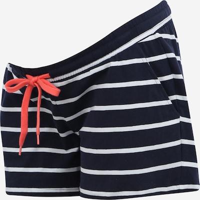 MAMALICIOUS Pantalon 'Pera' en bleu marine / blanc: Vue de face