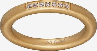 M&M GERMANY Fingerring in gold, Produktansicht