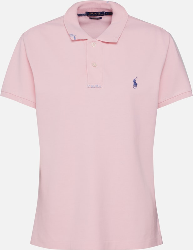 POLO RALPH LAUREN Shirt 'FIT RM-CLASSIC-SHORT SLEEVE-KNIT' in lila, Produktansicht