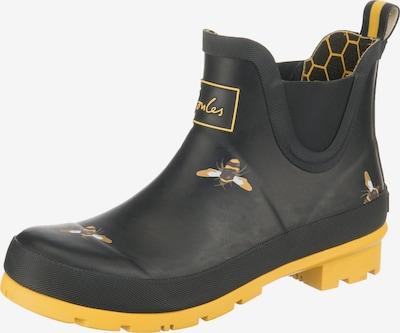 Tom Joule Gummistiefel 'Wellibob' in gelb / schwarz / weiß, Produktansicht