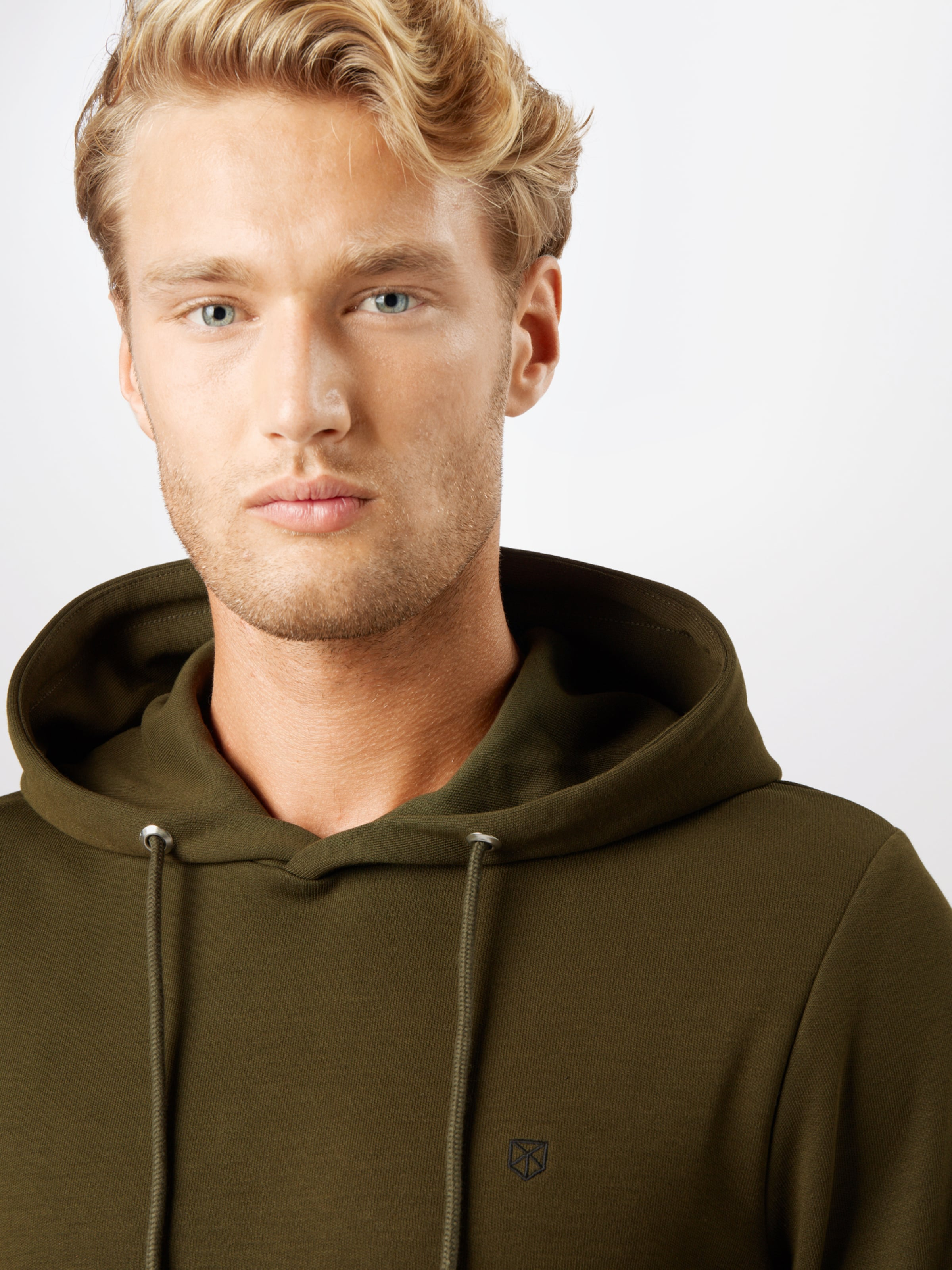 JACK & JONES Sweatshirt 'HARDY' i oliv