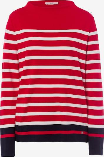 BRAX Bluzka sportowa 'Style Bobbie' w kolorze niebieska noc / czerwony / naturalna bielm, Podgląd produktu