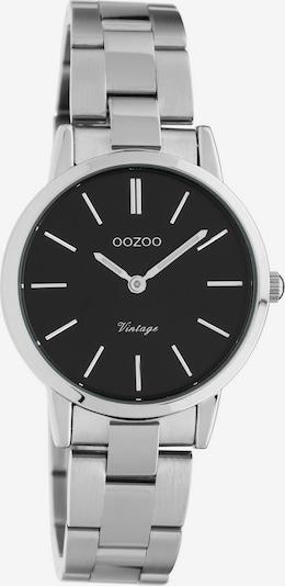 OOZOO Uhr 'C20111' in schwarz / silber, Produktansicht