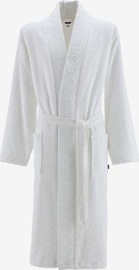 BOSS Home Kimono 'PLAIN' in hellgrau, Produktansicht