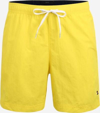 Tommy Hilfiger Underwear Badeshorts in gelb / weiß, Produktansicht