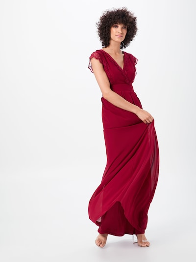 TFNC Kleid 'WHIMSY' in rot, Modelansicht