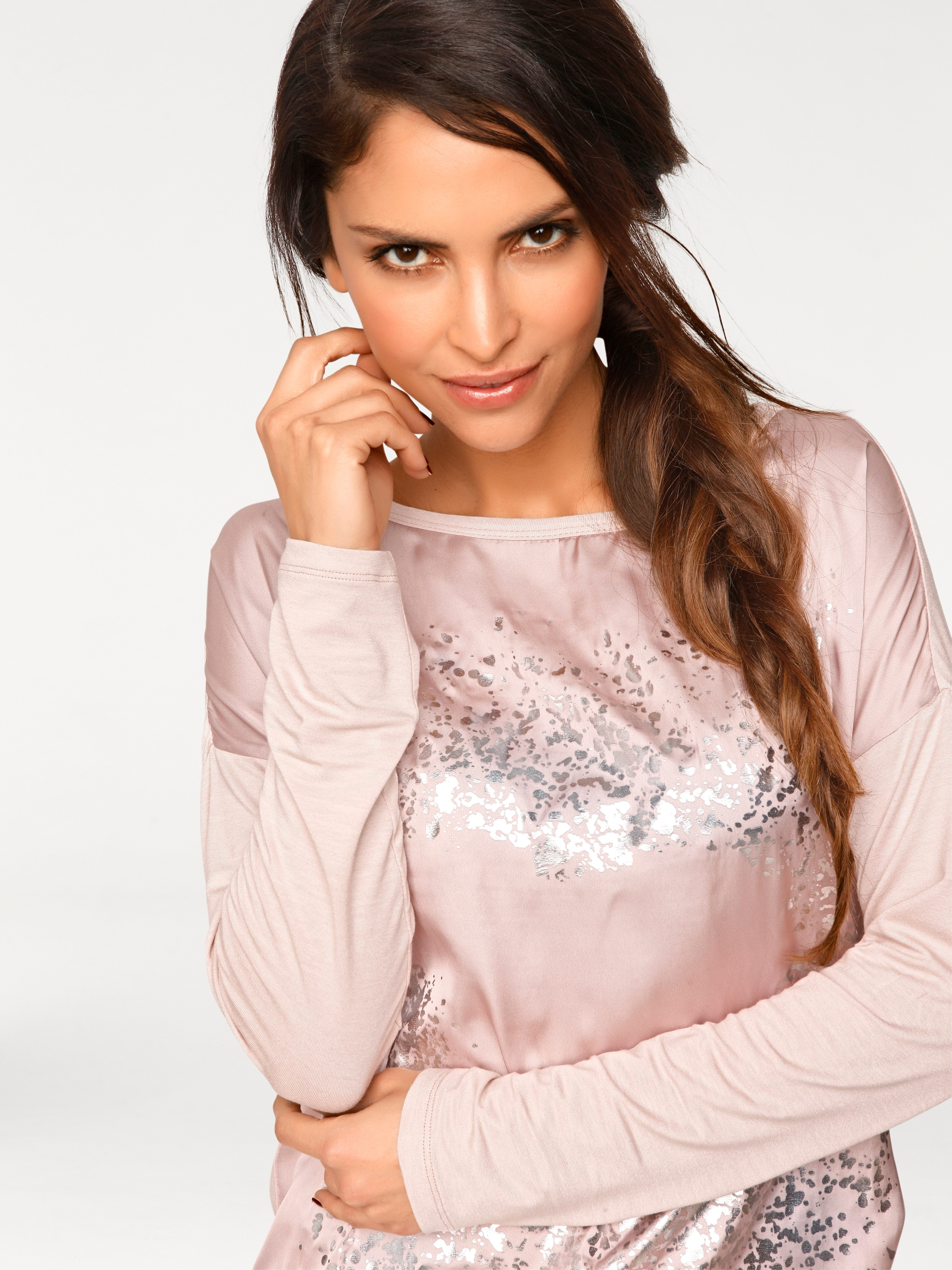 Oversized RosaSilber Oversized Heine shirt shirt Heine In P0kX8nONw
