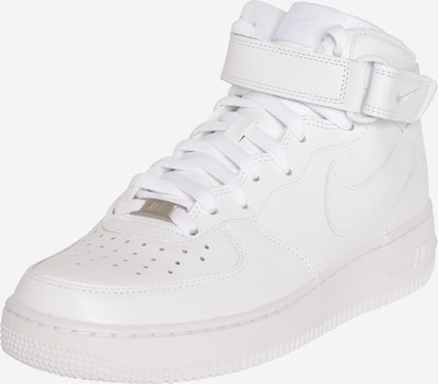Nike Sportswear Sneakers hoog 'Air Force Mid' in de kleur Wit, Productweergave