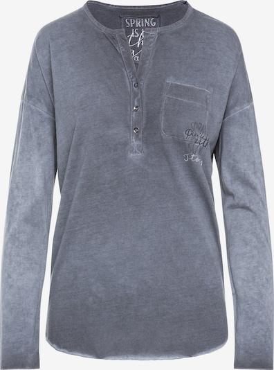 Soccx Shirt in basaltgrau, Produktansicht