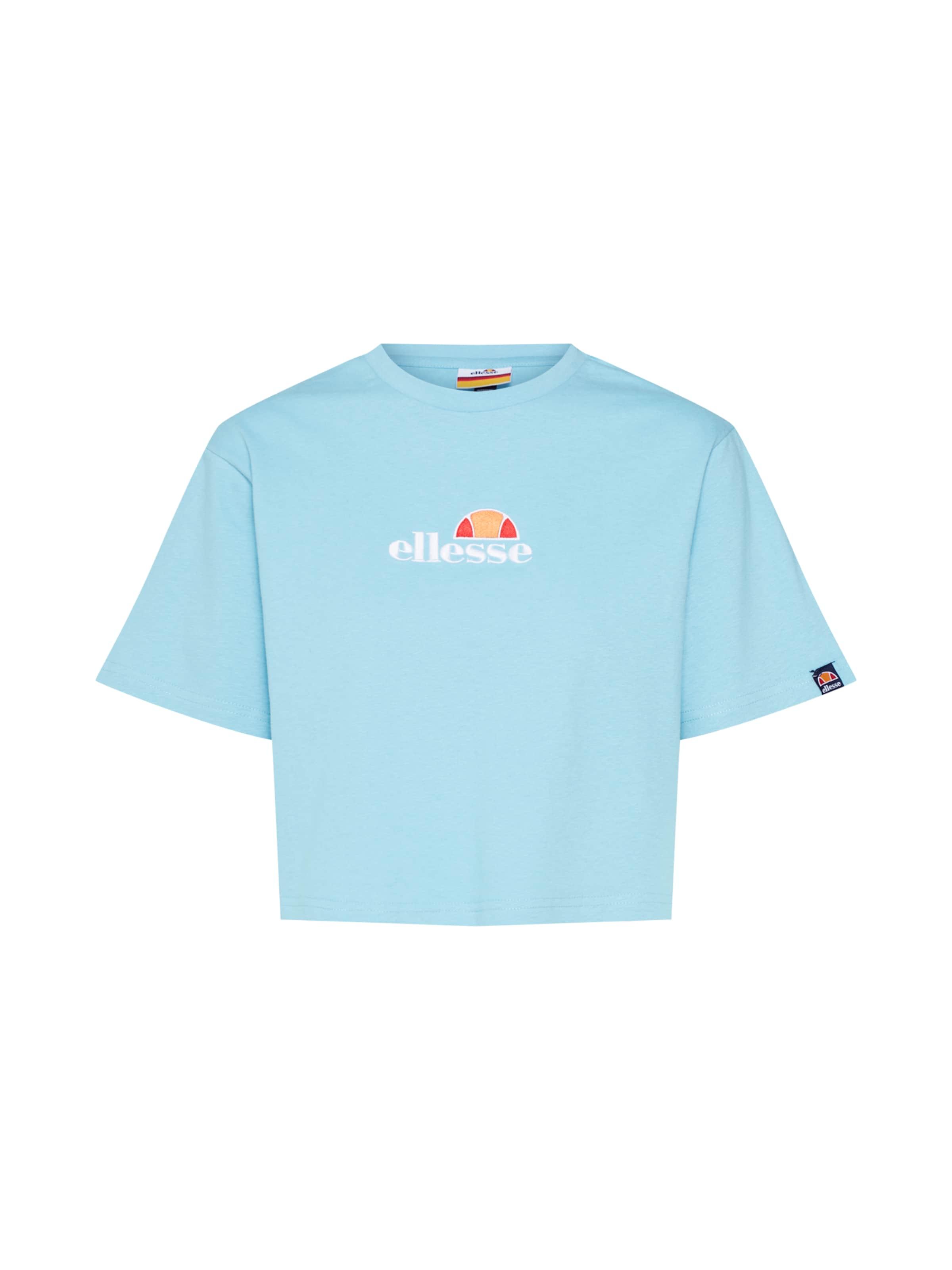 shirt 'fireball' Rot HellblauOrange T In Weiß Ellesse jcAS3Rq54L
