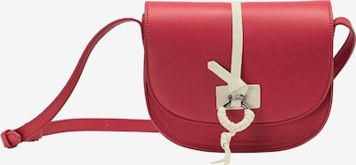 DREIMASTER Sac à bandoulière en rouge pastel / blanc, Vue avec produit