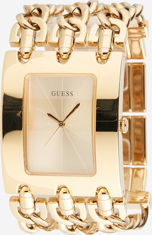 GUESS Analog Watch 'Heavy Metal' in Gold