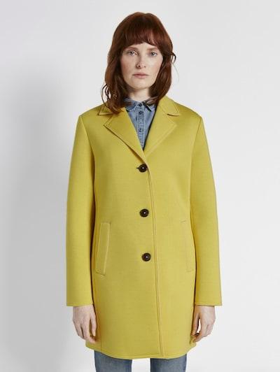 TOM TAILOR Jacken & Jackets Sommerlicher Mantel in zitrone, Modelansicht