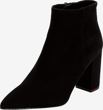 LLOYD Stiefelette mit bezogenem Blockabsatz in schwarz, Produktansicht