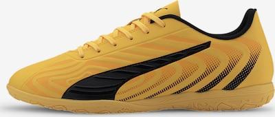 PUMA Voetbalschoen 'One 20.4 IT' in de kleur Geel / Zwart, Productweergave
