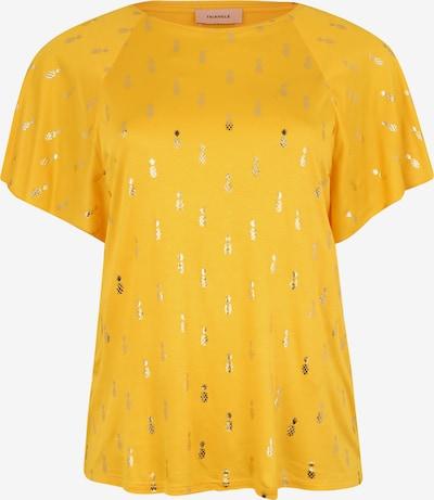 TRIANGLE T-shirt en jaune, Vue avec produit