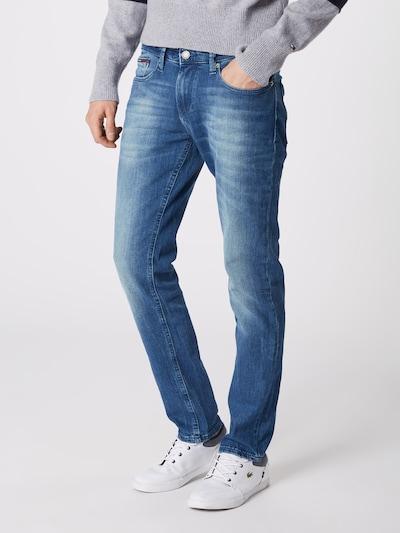 Tommy Jeans Jeans 'Slim Scanton BEMB' in blue denim, Modelansicht