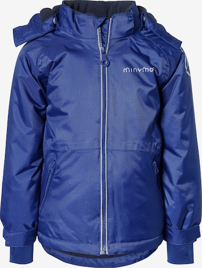 MINYMO Winterjacke 'Snow Oxford' in blau, Produktansicht