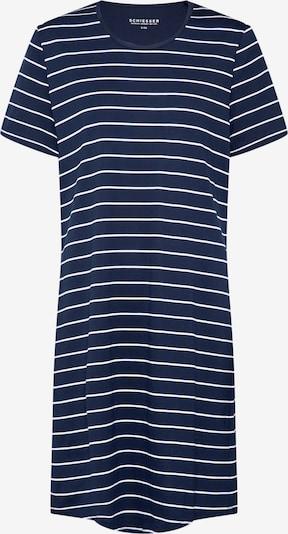 SCHIESSER Nachthemd in nachtblau / grau, Produktansicht