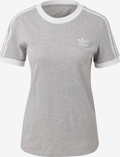 ADIDAS ORIGINALS Shirt in hellgrau / weiß, Produktansicht