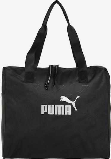 PUMA Shopper 'Core Up' in de kleur Zwart / Wit, Productweergave