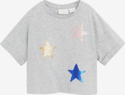 MANGO KIDS T-Shirt 'CAMISETA OCEAN' in blau / gold / hellgrau / hellpink, Produktansicht