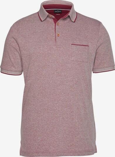 DANIEL HECHTER Poloshirt in pastellrot, Produktansicht