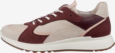ECCO Sneakers in weinrot / weiß, Produktansicht