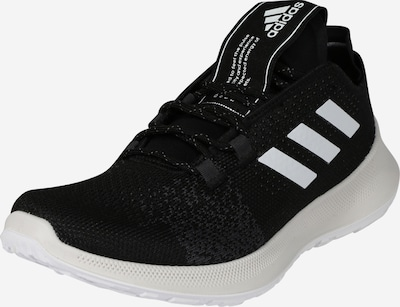 ADIDAS PERFORMANCE Chaussure de course 'SENSEBOUNCE + ACE W' en noir / blanc, Vue avec produit