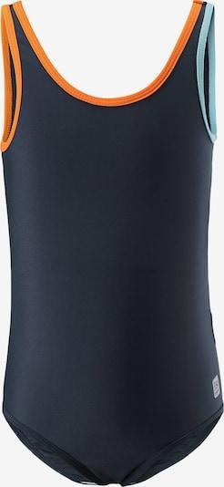 Reima Badeanzug 'Tenerife' in marine / hellblau / orange, Produktansicht