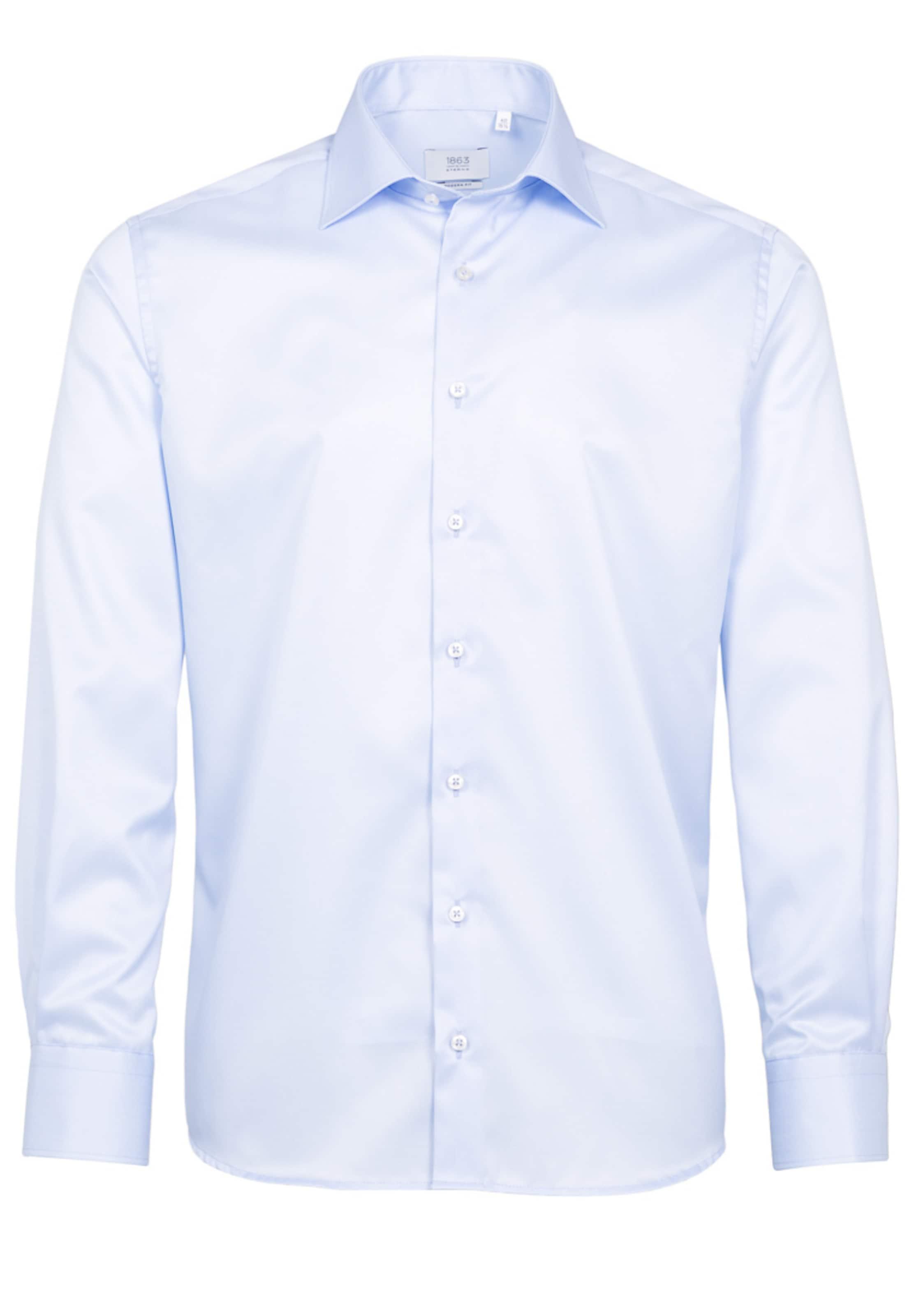 In Blau Modern Langarm Eterna Hemd Fit MqUVpSz