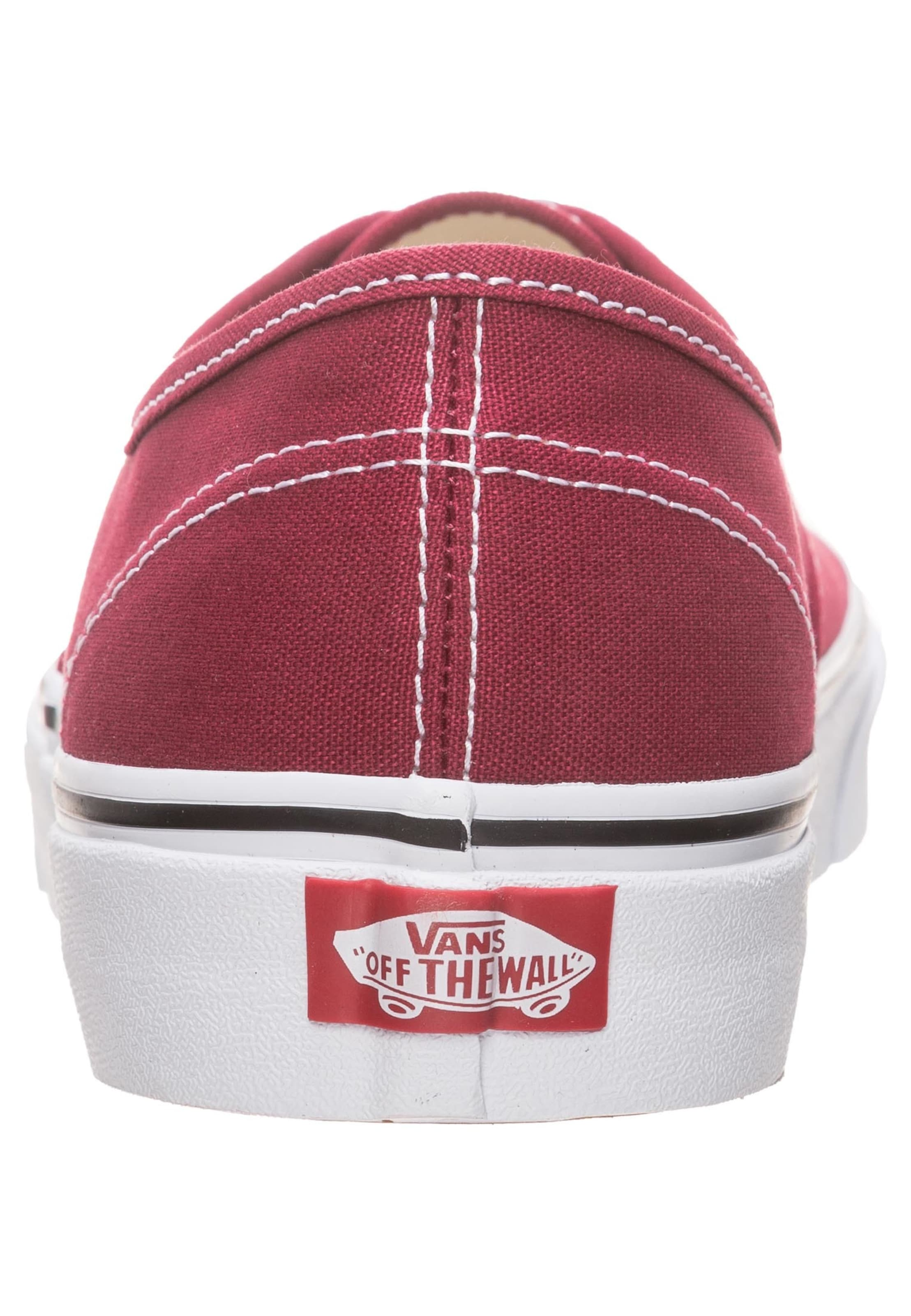 In Karminrot Vans Sneaker 'authentic' Vans vn0mNw8O