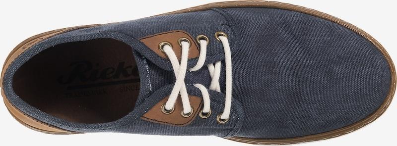 RIEKER Sneakers laag in Blauw / Bruin 5Qj9eVBD