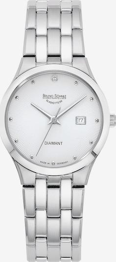 Bruno Söhnle Uhr 'Florenz' in silber / weiß, Produktansicht