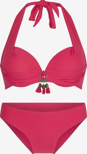 LingaDore Bikini 'ZABI' in de kleur Pink, Productweergave