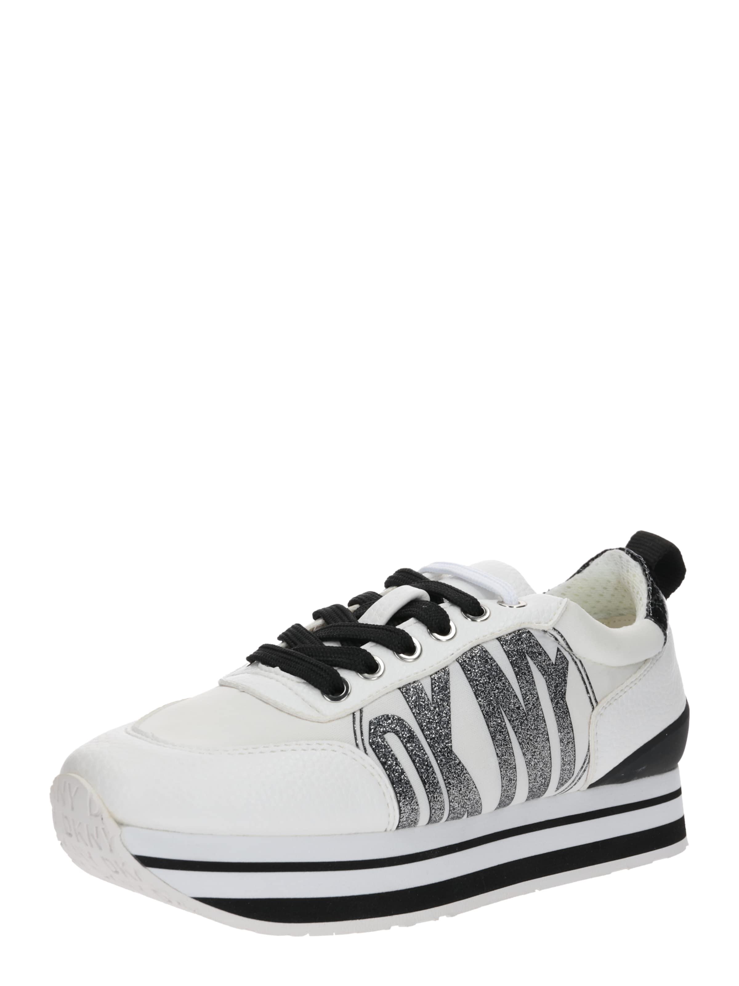 Lace En Sneaker' Dkny NoirBlanc 'panya Basses Baskets Up – N0nm8Ovw