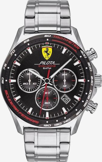 Scuderia Ferrari Uhr 'Pilota' in schwarz / silber, Produktansicht