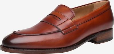 SHOEPASSION Loafer rahmengenäht 'No. 5295' in braun, Produktansicht