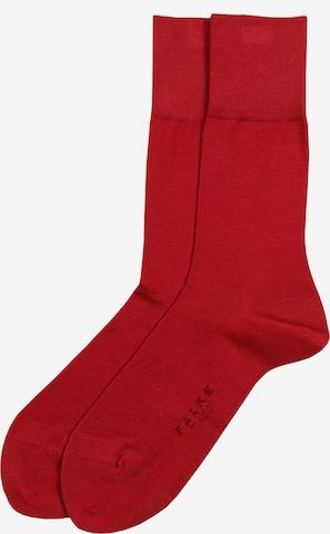 Chaussettes 'Tiago' FALKE en rouge