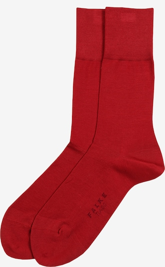 FALKE Socken 'Tiago' in rot, Produktansicht