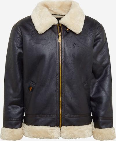 ALPHA INDUSTRIES Zimska jakna 'B3 FL' | črna barva, Prikaz izdelka