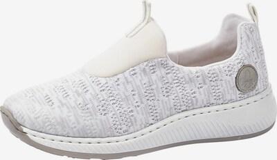 szürke / fehér RIEKER Belebújós cipők, Termék nézet